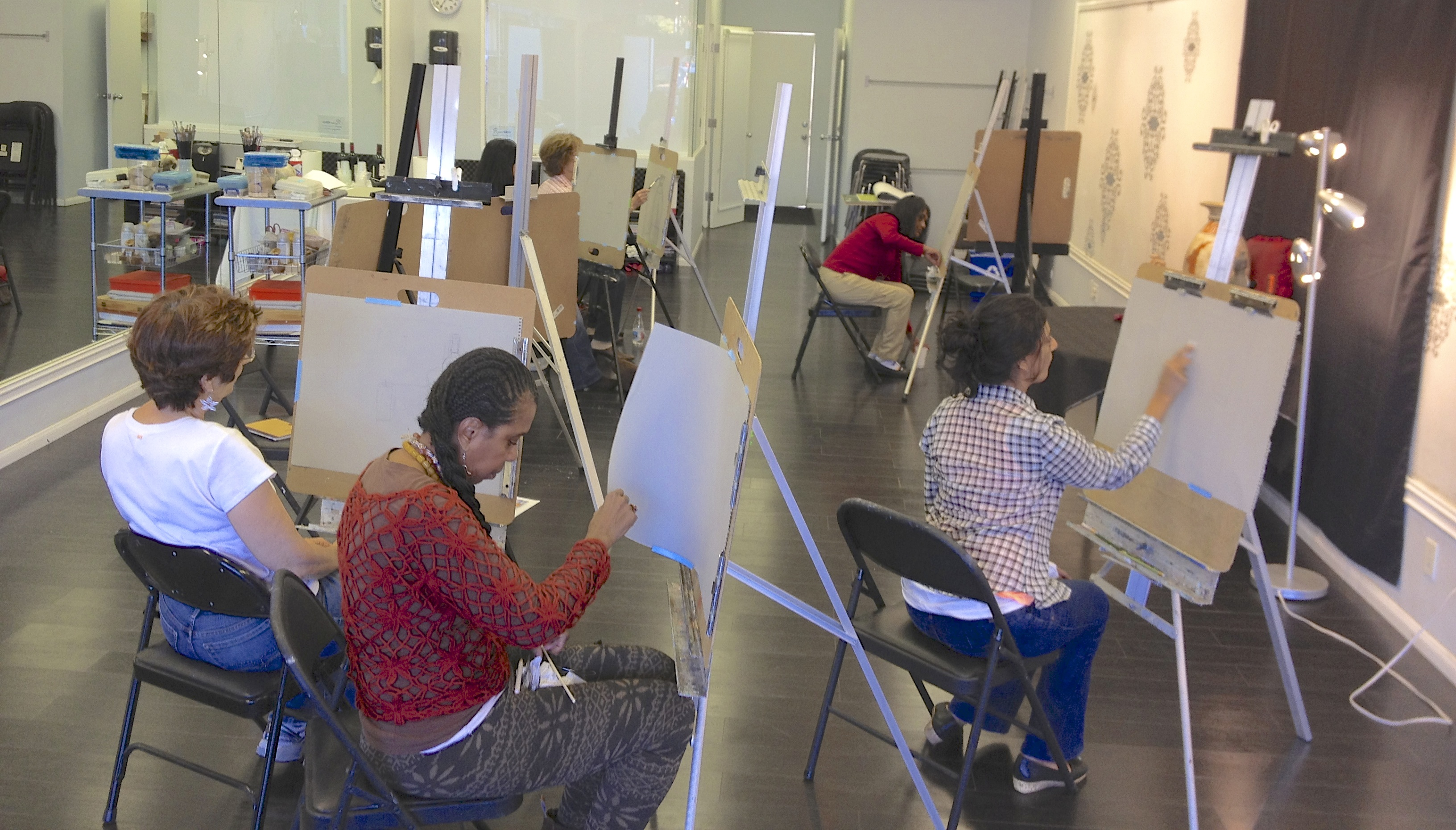 drawing and painting classes in los angeles get inspired