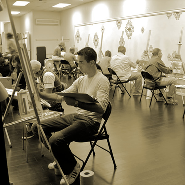 Los angeles art classes gold oil painting classes art for Craft workshops los angeles